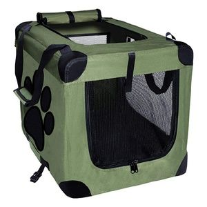 EXPAWLORER Dog Crate Collapsible 24 inch